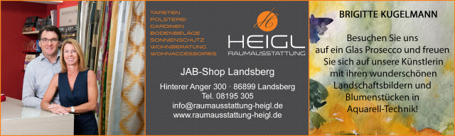 19. Lange Kunstnacht am 14.09.2019 in Landsberg